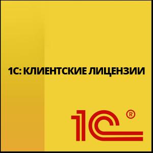 1С Клиентские лицензии
