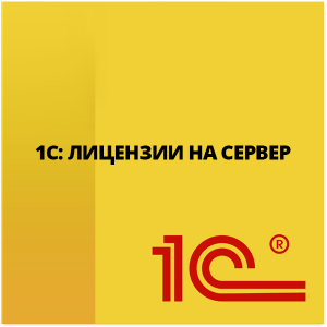 1С Лицензии на сервер